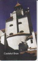 Romania - Brasov Dracula's Castle Bran Castel Phonecard - See Photos (front/back) 01.04 - Romania