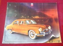 Belle Brochure Publicitaire SIMCA 9 ARONDE 8 Pages Toutes Couleurs - Reclame