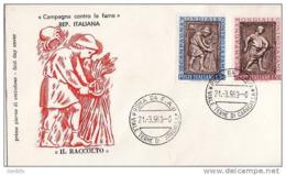 FDC Italia Il Raccolto 21 03 96. - 6. 1946-.. Republic