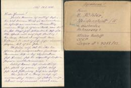 RUSSIE - LETTRE DE PRISONNIER DE GUERRE EN FRANCHISE DE MOSCOU POUR L'ALLEMAGNE DU 28/5/1948 AVEC CENSURE - TB - Covers & Documents
