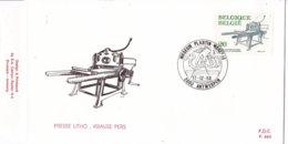 België - FDC 883 - 17 December 1988 - Boekdrukkunst - Lithografische Pers Krause - OBP 2311 - FDC