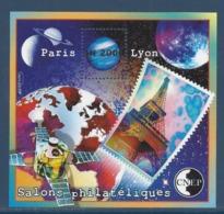 France - Bloc Souvenir CNEP - Neuf Sans Charnière - Salons Philatéliques Paris Lyon - 2000 - CNEP