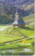 Romania - Maramures Barsana Wooden Church Phonecard - See Photos (front/back) 11.03 - Romania
