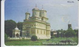 Romania - Curtea De Arges Dragomirna Suceava Churches Phonecard - See Photos (front/back) 05.03 - Romania
