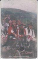 Romania - Folklore Ethnics Types Phonecard - See Photos (front/back) - Romania