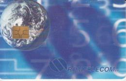 Romania - The Third Millennium Earth Globe Phonecard - See Photos (front/back) - Romania