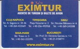 Romania - Eximtur Tourism Agency Phonecard - See Photos (front/back) - Romania