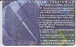 Romania - Romtelecom Icons Phonecard - See Photos (front/back) - Romania
