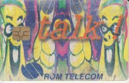 Romania - Kunstler Comics Cartoons Phonecard - See Photos (front/back) - Romania