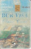 Romania - BCR Bank  Phonecard - See Photos (front/back) - Romania