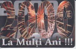 Romania - 2000 Millennium Anniversary Phonecard - See Photos (front/back) - Romania