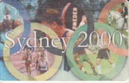 Romania - 2000 Australia Sydney Olympic Games Phonecard - See Photos (front/back) - Romania