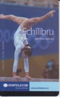 Romania - Gymnastics Sport  Phonecard - See Photos (front/back) - Romania