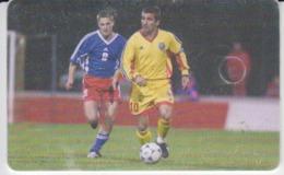 Romania - Soccer Football Gheorghe Hagi Sport  Phonecard - See Photos (front/back) - Romania