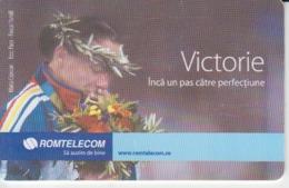 Romania - Athletics Sport Phonecard - See Photos (front/back) - Romania