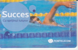 Romania - Swimming Sport Phonecard - See Photos (front/back) - Romania