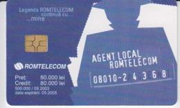 Romania - Olympics Olympic Games Romtelecom Phonecard - See Photos (front/back) - Romania