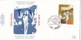 België - FDC 884 - 18 Februari 1989 - Het Belgische Rode Kruis - Schilderijen - Rogier Van Der Weyden - OBP 2312 - FDC