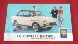 Dépliant Publicitaire La Nouvelle Daffodil 8 Pages Couleurs - Reclame