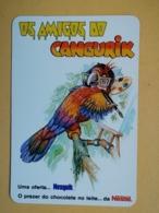 Kal 1- CALENDAR - NESQUIK, NESTLE, Parrot, Perroquet, PORTUGAL-1986 - Calendriers