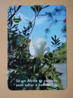 Kal 1- CALENDAR - FLOWER, FLEUR, PORTUGAL-1987 CUCUJAES - Calendars