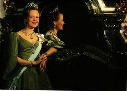 CPM AK Queen Margrethe II – Rosenborg Palace – 1992 DENMARK ROYALTY (855619) - Königshäuser