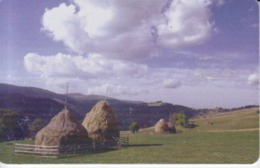 Romania - Mountains Nature Landscape -  Romtelecom Phonecard - See Photos (front/back) - Romania