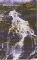 Romania - Nature Landscape -  Capra Waterfall Romtelecom Phonecard - See Photos (front/back) - Romania