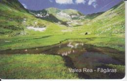 Romania - Nature Landscape - Caraiman Cross Fagaras Valea Rea Romtelecom Phonecard - See Photos (front/back) - Romania