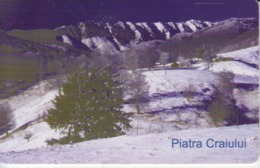 Romania - Nature Landscape - Piatra Craiului Postavarul Romtelecom Phonecard - See Photos (front/back) - Romania