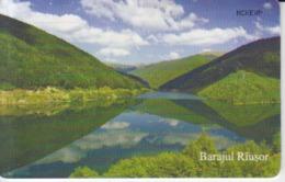 Romania - Nature Landscape - Rausor Water Dam Dambovicioara Arges Romtelecom Phonecard - See Photos (front/back) - Romania