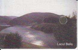 Romania - Nature Landscape - Belis Lake Romtelecom Phonecard - See Photos (front/back) - Romania