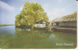 Romania - Nature Landscape - Danube Delta Romtelecom Phonecard - See Photos (front/back) - Romania