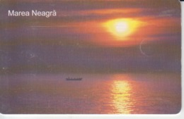 Romania - Nature Landscape - Black Sea  Romtelecom Phonecard - See Photos (front/back) - Romania
