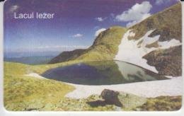 Romania - Nature Landscape - Iezer Lake Piatra Craiului Romtelecom Phonecard - See Photos (front/back) - Romania