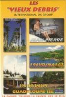 Guadeloupe-les Vieux Debris-jean Pierre- Carte De Qsl-cpm - CB
