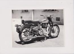 Bullet 350 +-21cm X 15cm  Moto MOTOCROSS MOTORCYCLE Douglas J Jackson Archive Of Motorcycles - Fotos