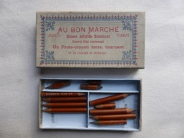 Boite De Crayons Du Magasin Au Bon Marché - Le Bon Marché - Sonstige