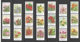 D513 1985 GRENADA FLORA FLOWERS #1280-300 !!! MICHEL 42,15 EURO BIG SET MNH - Vegetales