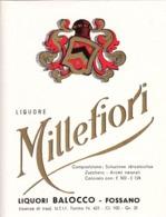 Liquore Millefiori - Liquori Balocco, Fossano - Etiketten