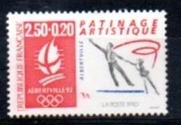 "France 1992 : Timbre N° 2737 Du Feuillet Y&T N° 14  "" Patinage Artistique "" - Ongebruikt"