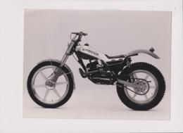 Cagiva 125 Trial +-24cm X 17cm  Moto MOTOCROSS MOTORCYCLE Douglas J Jackson Archive Of Motorcycles - Fotos