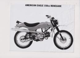 American Eagle 150cc Renegade +-24cm X 17cm  Moto MOTOCROSS MOTORCYCLE Douglas J Jackson Archive Of Motorcycles - Andere