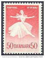 DENEMARKEN 1965 Kopenhagen Festifal Fluorescerend Papier PF-MNH-NEUF - Danimarca