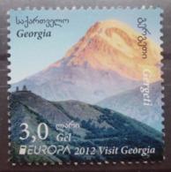 Georgien    Europa  Cept    Besuchen Sie Europa  2012  ** - 2012