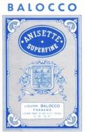 Anisette Superfine - Liquori Balocco, Fossano - Etiketten