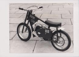 SIM 50 +-24cm X 17cm  Moto MOTOCROSS MOTORCYCLE Douglas J Jackson Archive Of Motorcycles - Other