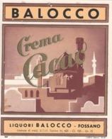 Crema Di Cacao - Liquori Balocco, Fossano - Etiketten