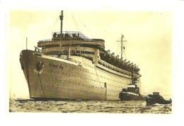Transports. CPM. Bateaux. Le Robert Ley Lancé à Hambourg Par La Kraft Durch Freude Le 29 Mai 1938 (ferry, Paquebot) - Paquebots