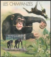 Burundi  2012 OCBn° Bloc 403 *** MNH Cote 14 Euro Faune Chimpansees Chimpanzés Monkeys - 2010-..: Neufs
